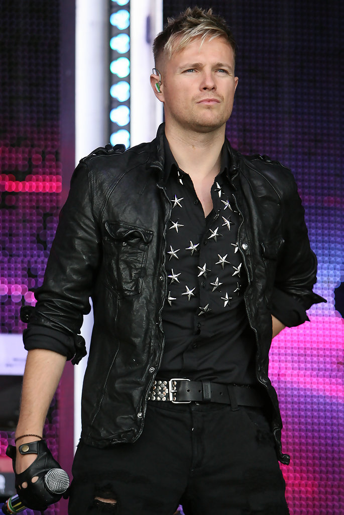 Nicky Byrne Button Down Shirt  Nicky Byrne Looks  StyleBistro