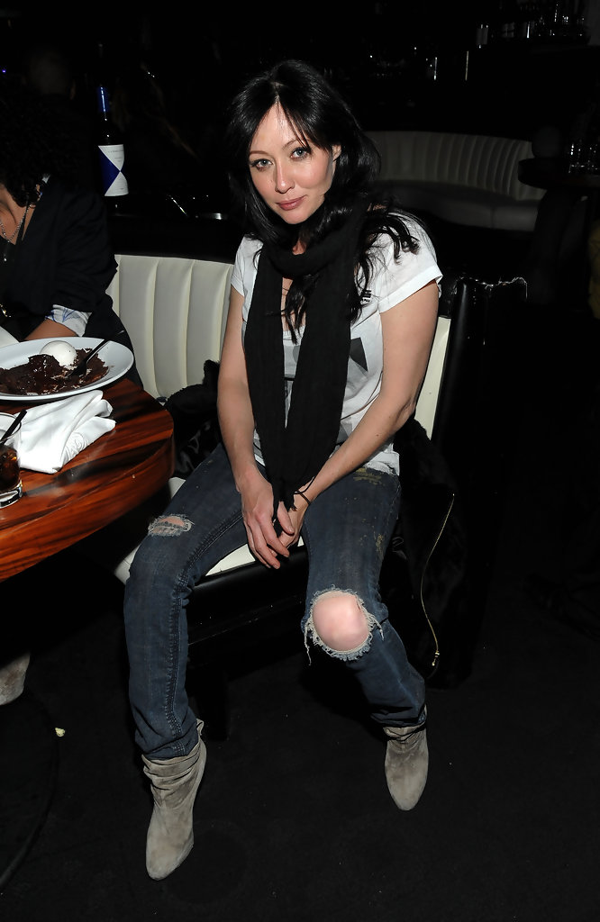 Shannen Doherty Ankle Boots  Shannen Doherty Shoes Looks
