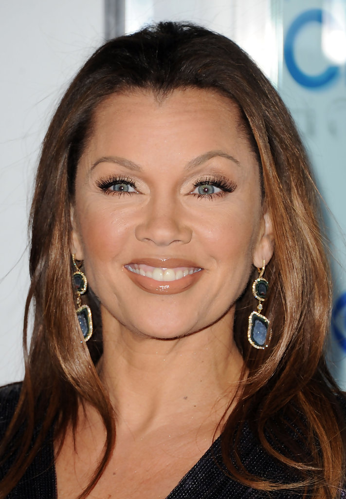 Vanessa Williams Dangling Gemstone Earrings  Vanessa