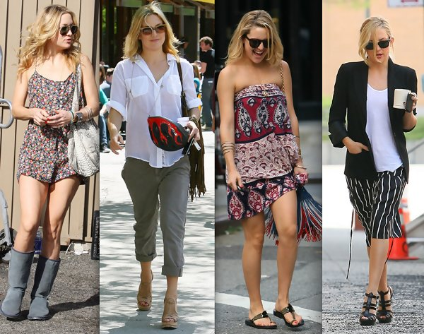 Kate Hudson Running Clothes