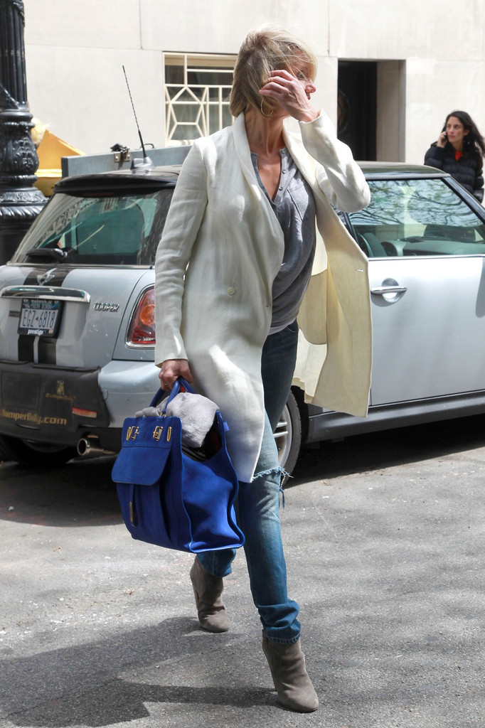 Cameron Diaz Leather Tote Cameron Diaz Handbags Looks
