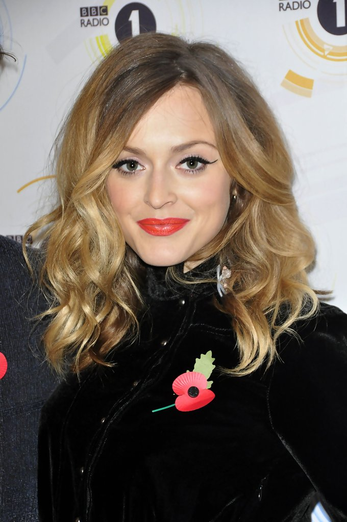 Fearne Cotton Medium Curls  Fearne Cotton Hair Looks
