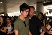 5 Seconds of Summer seen at LAX.