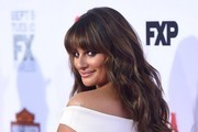 """Premiere of """"Sons of Anarchy""""..TCL Chinese Theatre, Hollywood, California..September 6, 2014..Job: 140906A1..(Photo by Axelle Woussen/Bauer-Griffin)..Pictured: Lea Michele."""