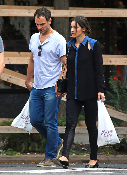 Katharine McPhee with cool, clever, cheerful, Husband Nick Cokas