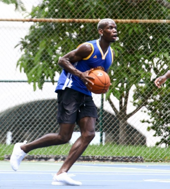 Image result for paul pogba play basketball