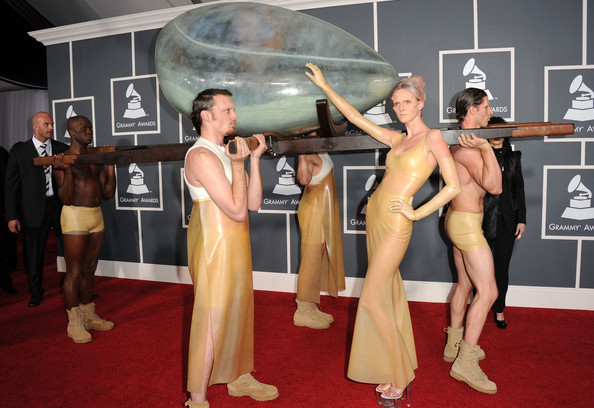 The 53rd Annual GRAMMY Awards - Arrivals