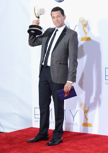 Jon Cryer, winner of Outstanding Lead Actor in a Comedy Series poses in the press room during the 64th Annual Primetime Emmy Awards at Nokia Theatre L.A. Live on September 23, 2012 in Los Angeles, California.