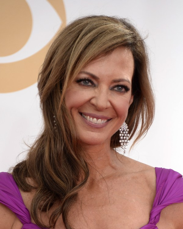 Allison Janney In Arrivals 65th Annual Primetime