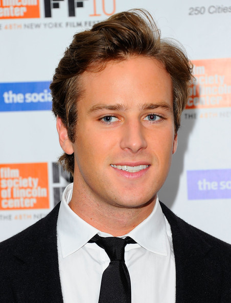 "Armie Hammer - 48th New York Film Festival - ""The Social Network"" - Arrivals"