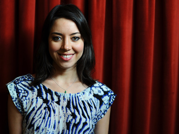 "Aubrey Plaza - ""Safety Not Guaranteed"" Greenroom Photo Op - 2012 SXSW Music, Film + Interactive Festival"