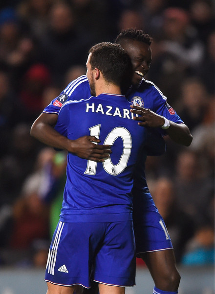 Image result for Bertrand traore and Eden hazard