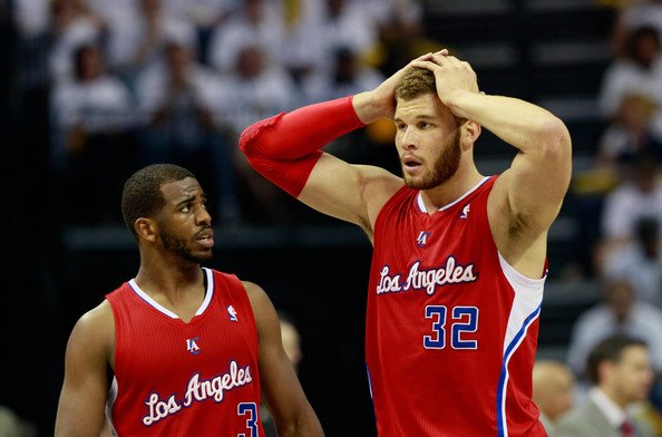 Chris Paul and Blake Griffin - Los Angeles Clippers v Memphis Grizzlies - Game Seven