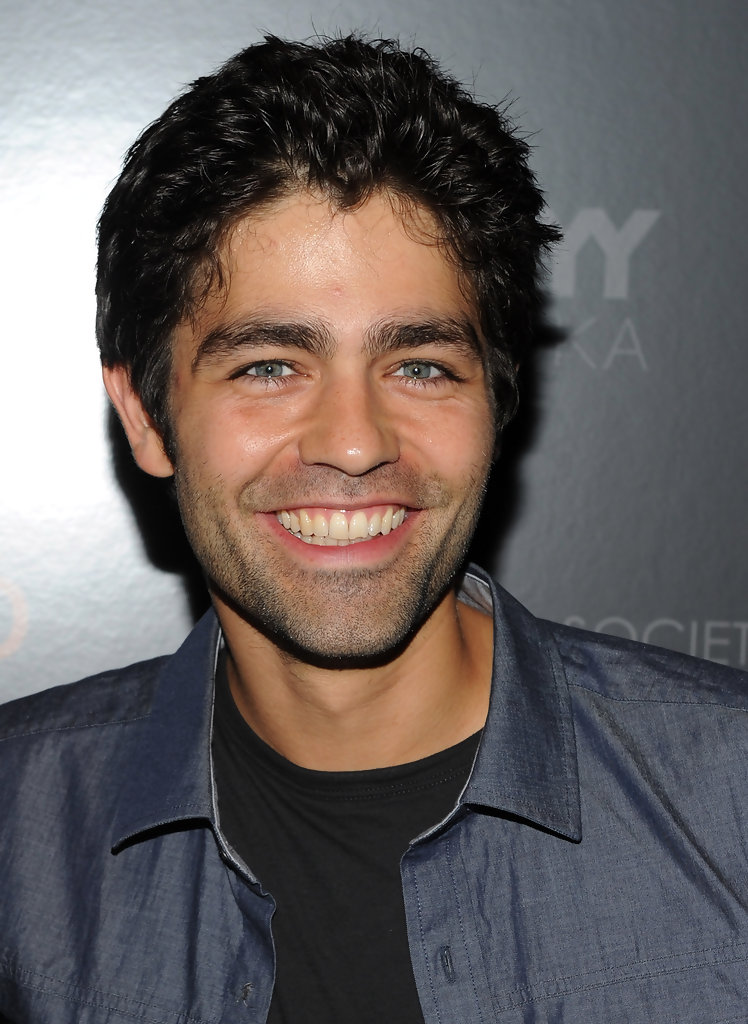 Adrian Grenier In The Cinema Society And 2xist Host A