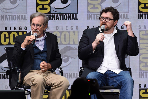 Steven Spielberg and Ernest Cline