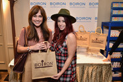Actresses Jillian Rose Reed (R) and Nikki Deloach attend the HBO Luxury Lounge featuring PANDORA Jewelry at Four Seasons Hotel Los Angeles at Beverly Hills on January 10, 2015 in Beverly Hills, California.