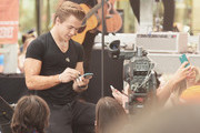 "Musician Hunter Hayes performs on NBC's ""Today"" at the NBC's TODAY Show on August 22, 2014 in New York City."