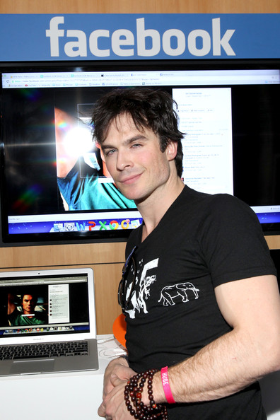 Ian Somerhalder Actor Ian Somerhalder attends Funny Or Die Clubhouse + Facebook Pop-Up HQ @ SXSW - Day 1 on March 8, 2014 in Austin, Texas.