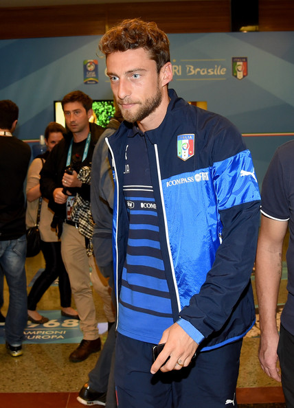 Claudio Marchisio of Italy after press conference on June 10, 2014 in Rio de Janeiro, Brazil.