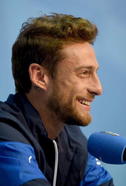 Claudio Marchisio of Italy during press conference on June 10, 2014 in Rio de Janeiro, Brazil.