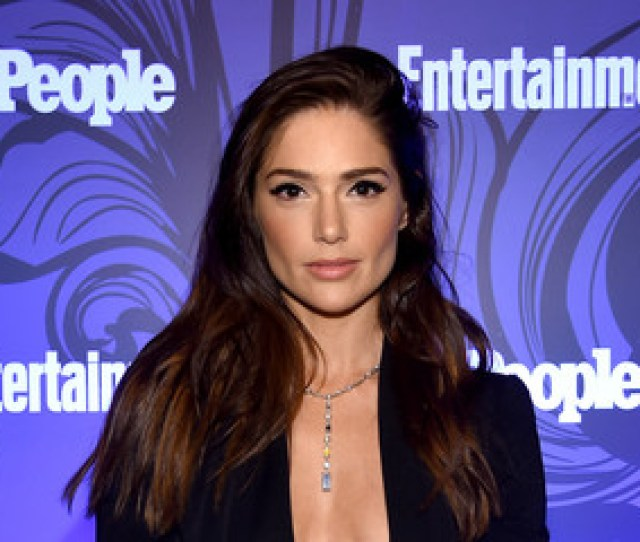 Janet Montgomery Entertainment Weekly People New York Upfronts Party  Inside