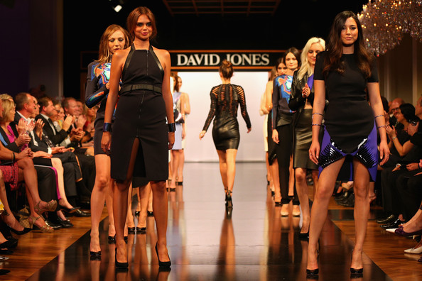 Jessica Gomes - David Jones Autumn/Winter 2013 Fashion Launch - Catwalk