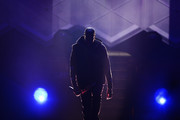 Jay-Z appears on stage at Barclays Center on December 14, 2014 in the Brooklyn borough of New York City.
