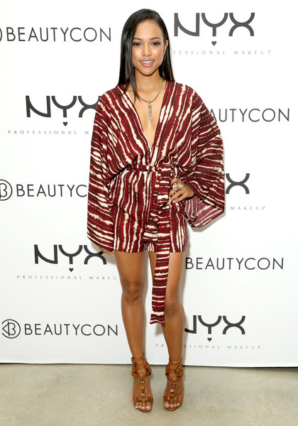 Image result for karrueche at beautycon