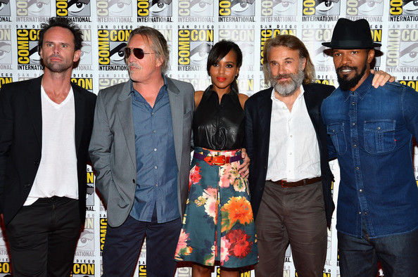 "Don Johnson and Kerry Washington - ""Django Unchained"" Press Line - Comic-Con International 2012"