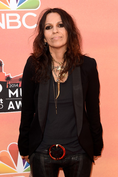 Linda Perry Pictures Arrivals at the iHeartRadio Music
