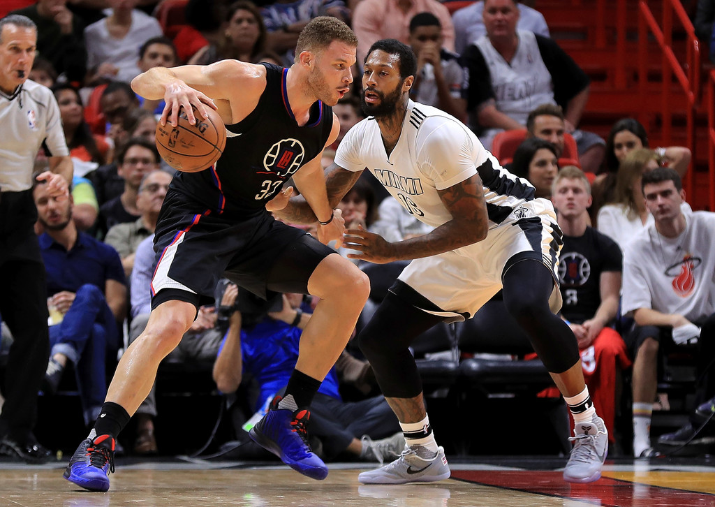 James Johnson Photos Photos  Los Angeles Clippers V Miami
