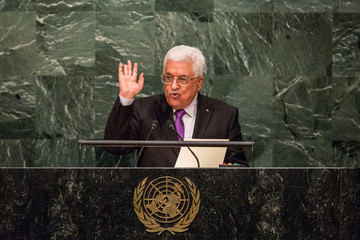 Mahmoud Abbas World Leaders Address the UN General Assmebly