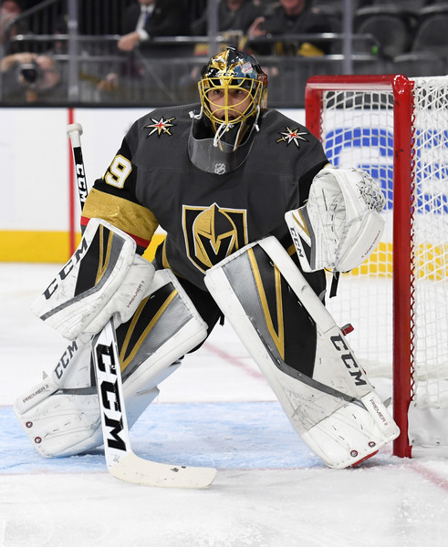 e8941298ed5 Fleury takes sole possession of 10th on all-time wins list