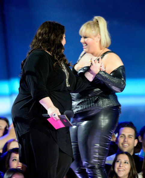 Rebel Wilson and Melissa McCarthy - 2013 MTV Movie Awards Show
