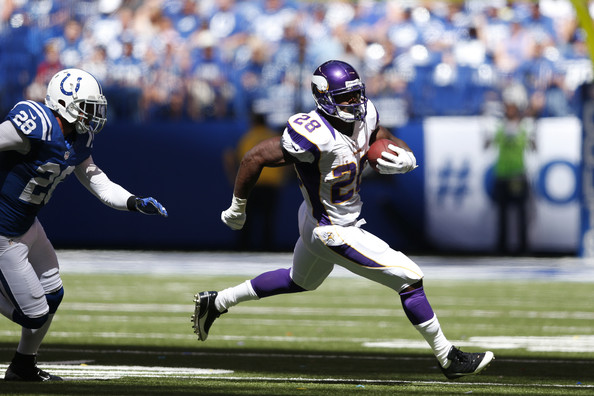 Image result for adrian peterson vs colts