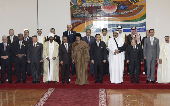 Muammar al-Gaddafi - Arrivals For The Arab Summit In Libya