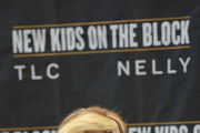 T-Boz of TLC attends the New Kids On The Block Press Conference at Madison Square Garden on January 20, 2015 in New York City.