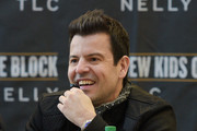 Jordan Knight attends the New Kids On The Block Press Conference at Madison Square Garden on January 20, 2015 in New York City.