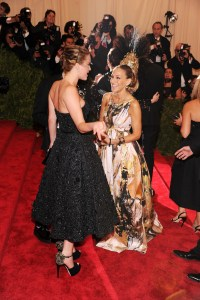 Jennifer Lawrence in Red Carpet Arrivals at the Met Gala ...