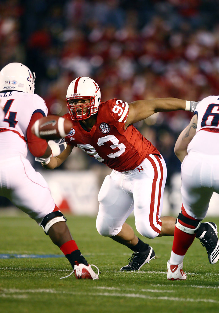 Ndamukong Suh in Pacific Life Holiday Bowl  Nebraska v
