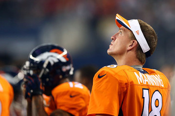 Peyton Manning Denver Broncos v Dallas Cowboys