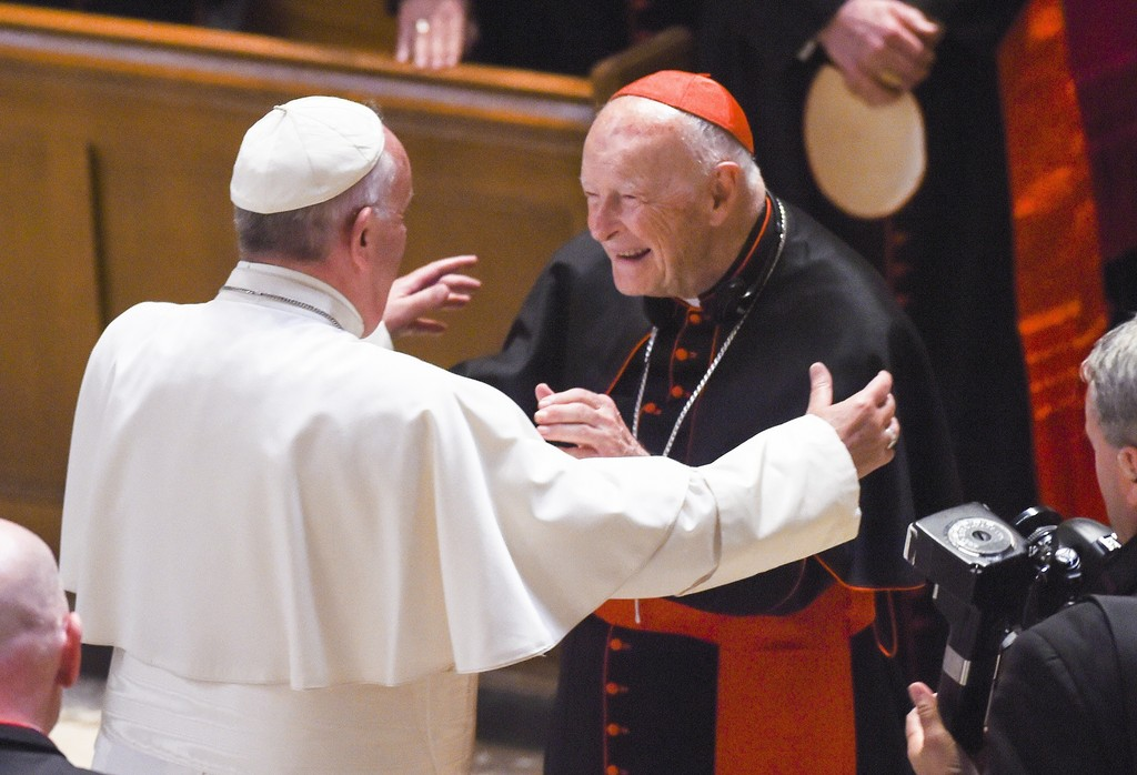 Image result for photo of cardinal mccarrick