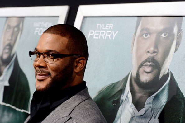 "Actor Tyler Perry arrives at the premiere of Summit Entertainment's ""Alex Cross"" at the Arclight Theater on October 15, 2012 in Los Angeles, California."