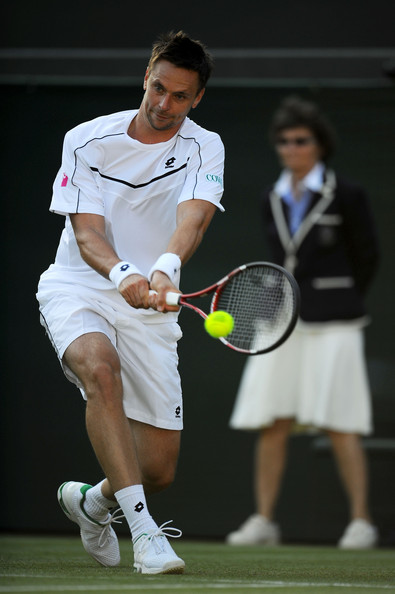 Robin Soderling - The Championships - Wimbledon 2011: Day Two