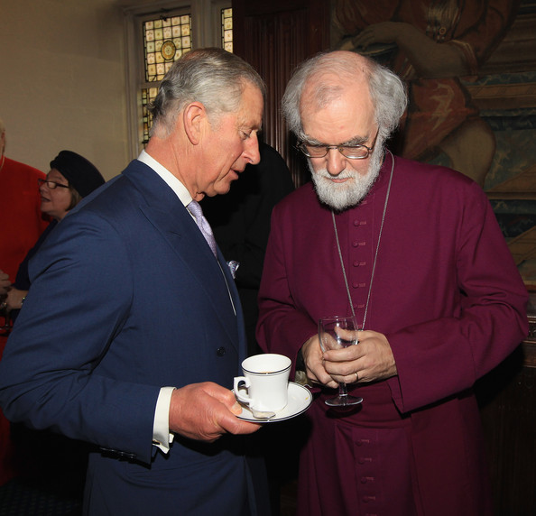 Image result for rowan williams and prince charles