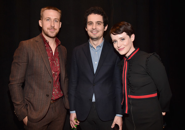 Image result for damien chazelle claire foy ryan gosling