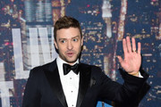 Justin Timberlake attends SNL 40th Anniversary Celebration at Rockefeller Plaza on February 15, 2015 in New York City.