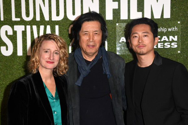 Image result for steven yeun at london film festival