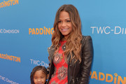 "Actress Christina Milian and daughter Violet arrive on the red carpet for the premiere of TWC-Dimension's ""Paddington"" at TCL Chinese Theatre IMAX on January 10, 2015 in Hollywood, California."