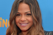 "Actress Christina Milian arrives on the red carpet for the premiere of TWC-Dimension's ""Paddington"" at TCL Chinese Theatre IMAX on January 10, 2015 in Hollywood, California."